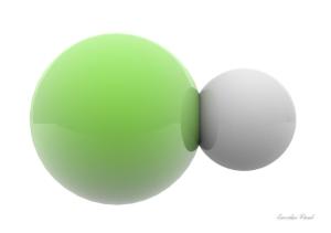 molecula de sal