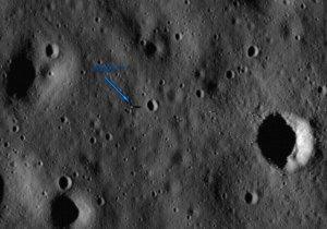 Restos del Apollo 11 captados por LRO