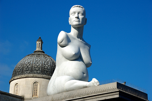 Estatua de Allison Lapper en Trafalgar Square