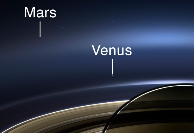 Detalle de Marte y Venus